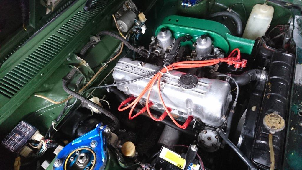 L18 ツインキャブ 510 ブルーバード