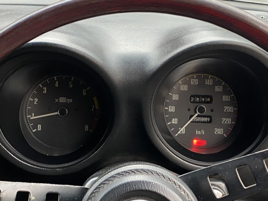 フェアレディZ 240ZG 室内 メーター