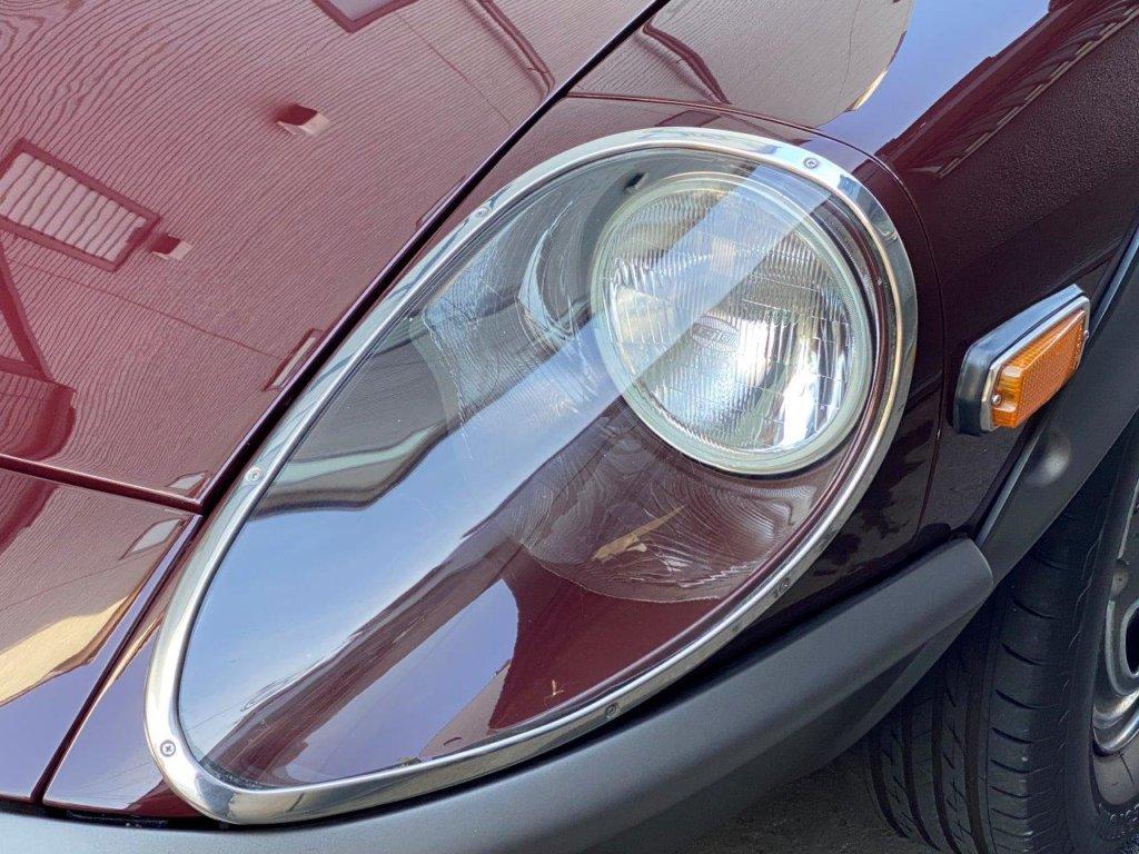 フェアレディZ 240ZG マルーン ヘッドライトカバー
