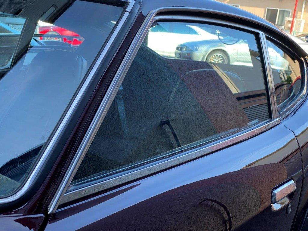 フェアレディZ 240ZG 窓 メッキモール