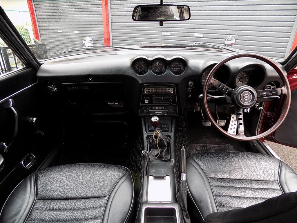 フェアレディZ 240ZG 室内