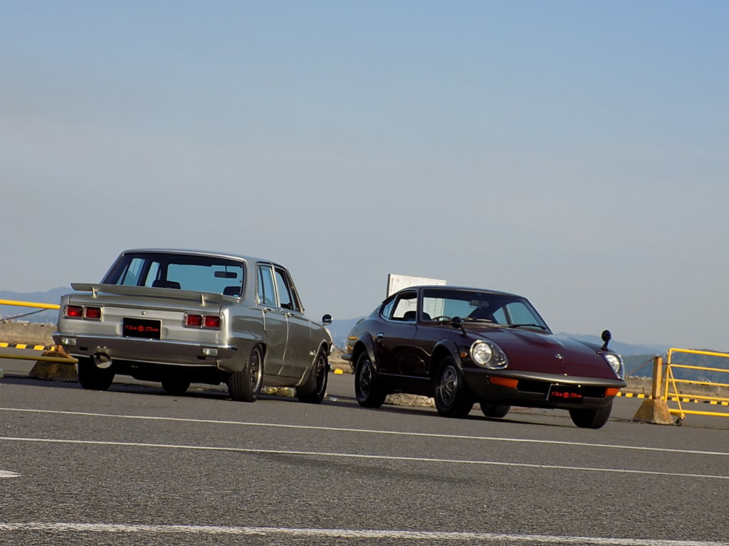 フェアレディZ 240ZG マルーン ハコスカ